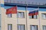 Флагштоки 9м в Учебном центре ФПС по НСО